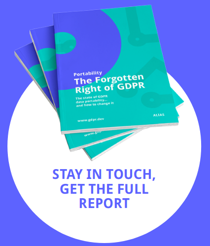 Image illustrating The state of GDPR portability 2021