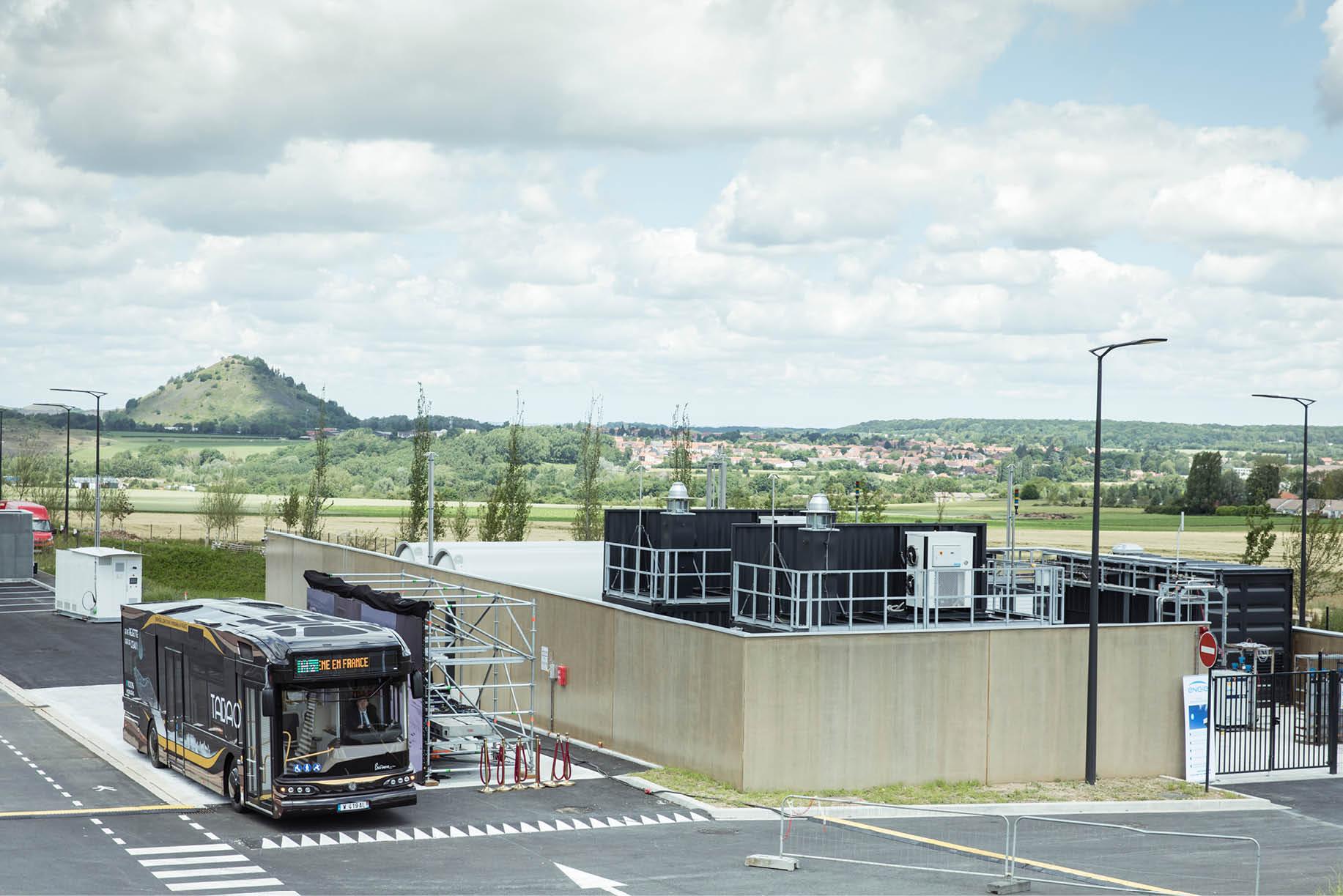 McPhy station hydrogène SMT AG Lens Bethune Hauts de France