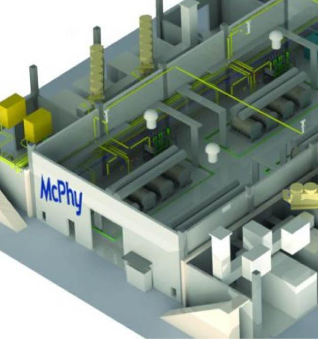 McPhy electrolyseur 20 MW