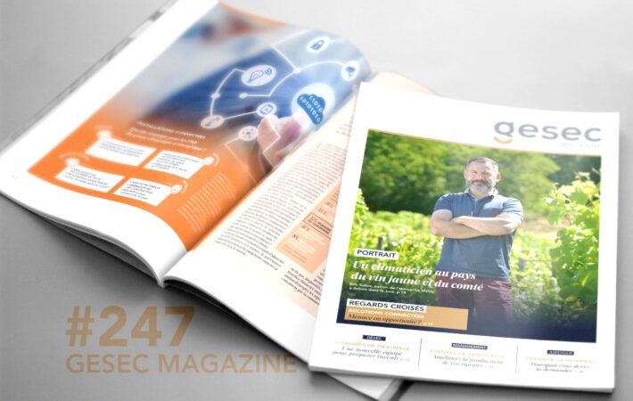 Couverture GESEC Magazine 247 Automne 2019