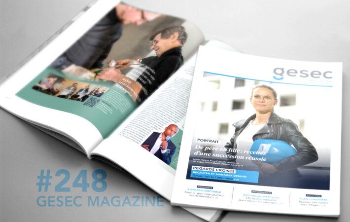 Couverture Gesec Magazine 248 - Hiver 2019