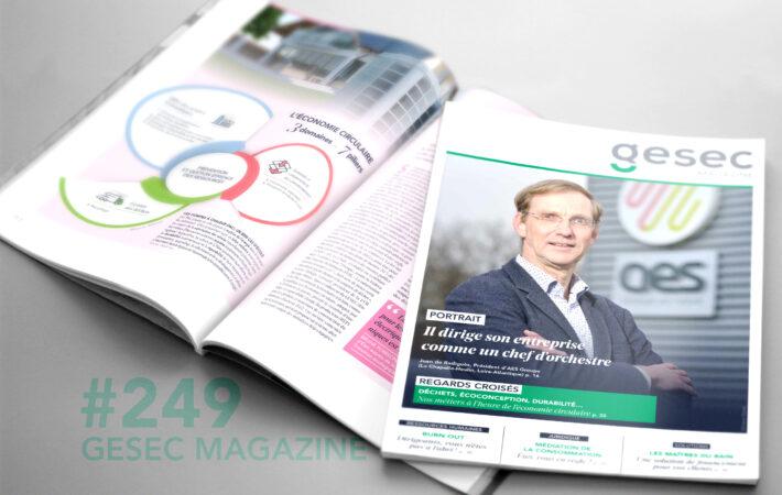 Couverture Gesec Magazine 249 - printemps 2020