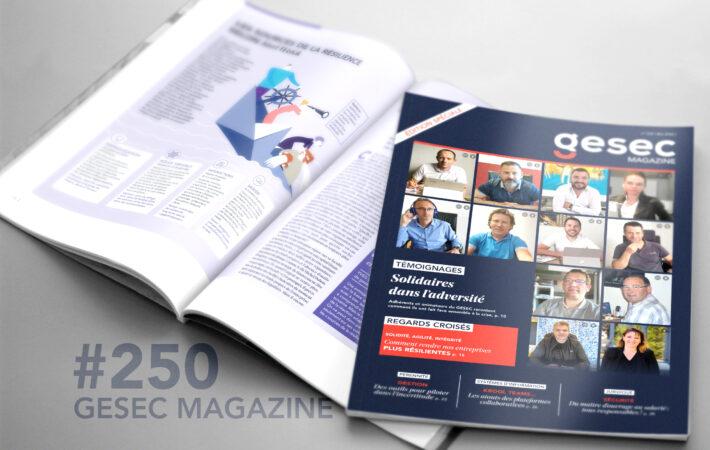 Couverture Gesec Magazine 250 - été 2020