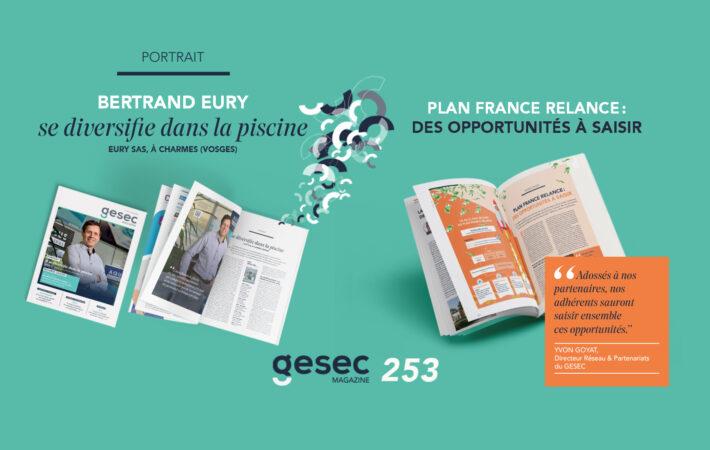 Couverture Gesec Magazine Printemps 2021