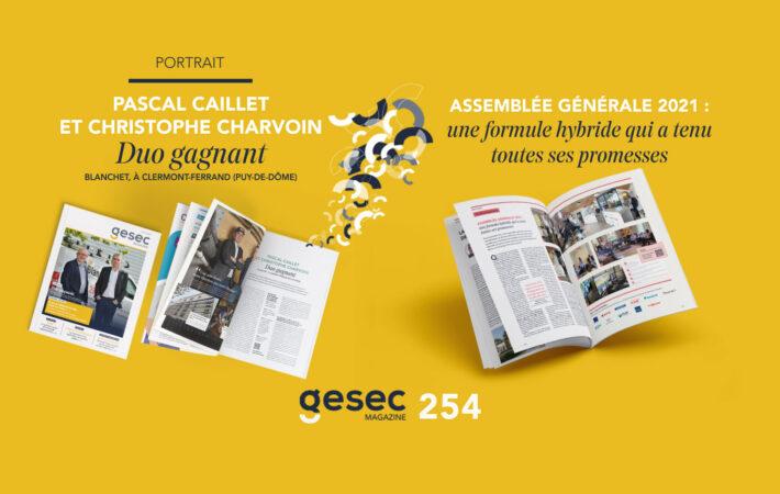 Couverture Gesec Magazine ete 2021