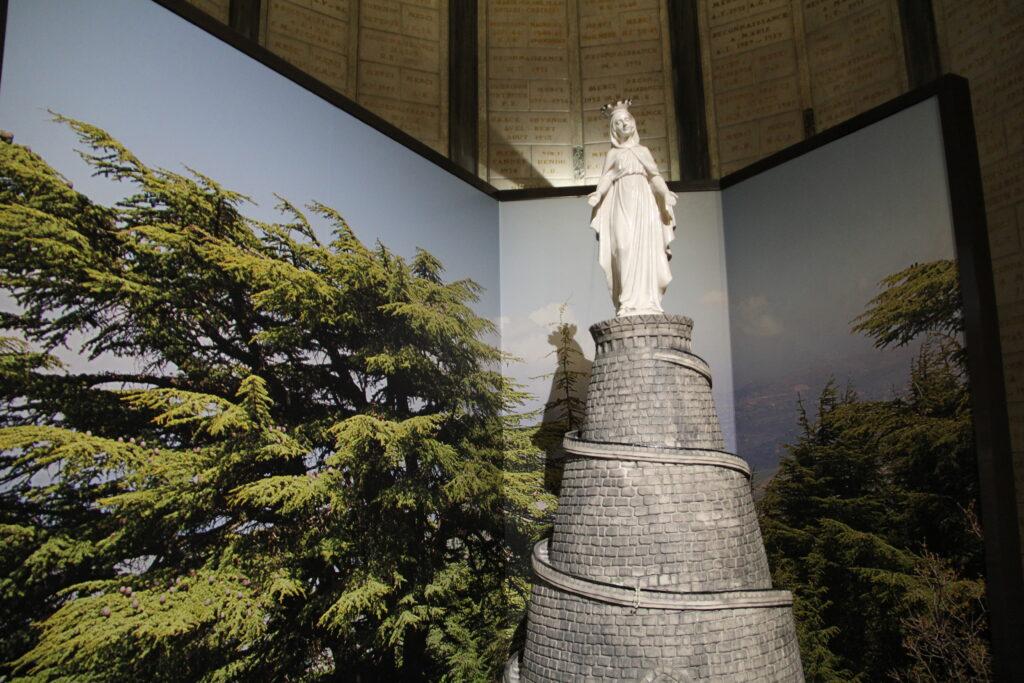 Fourvière - Vierge du monde