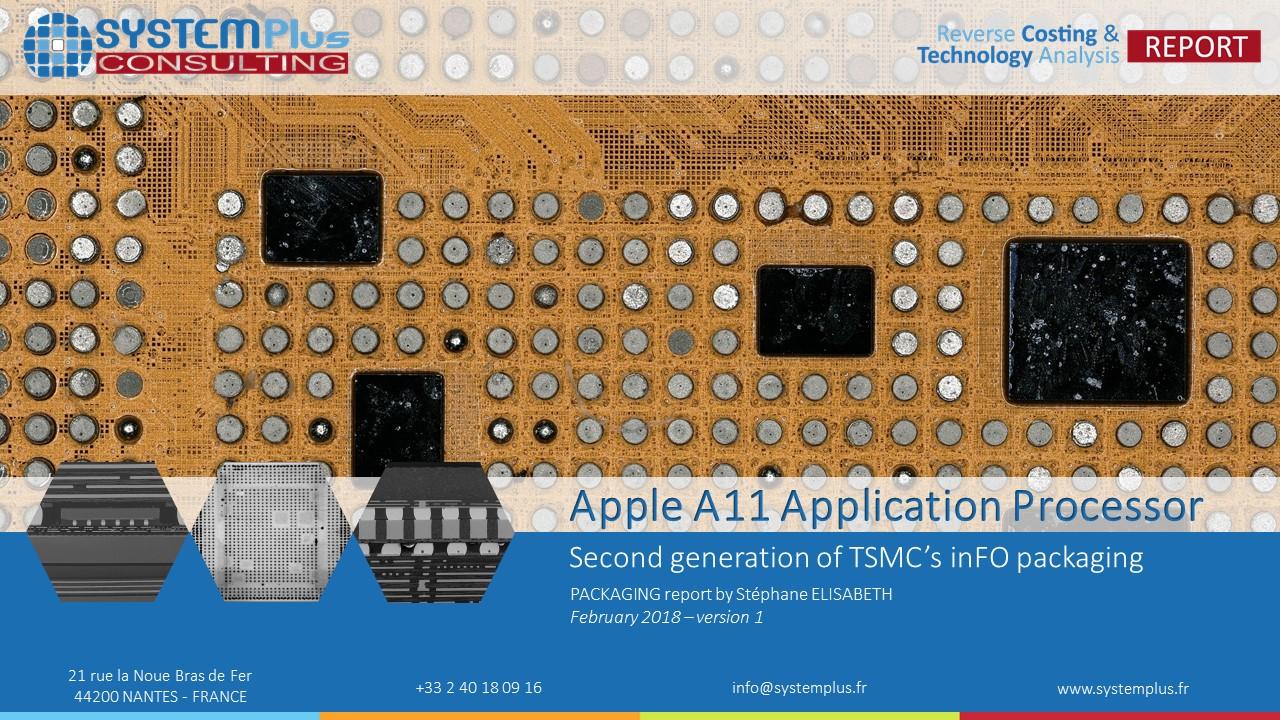 Apple A11 inFO Packaging SPC 2018