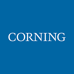 Blue Corning box logo