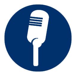 picto micro speaker blue