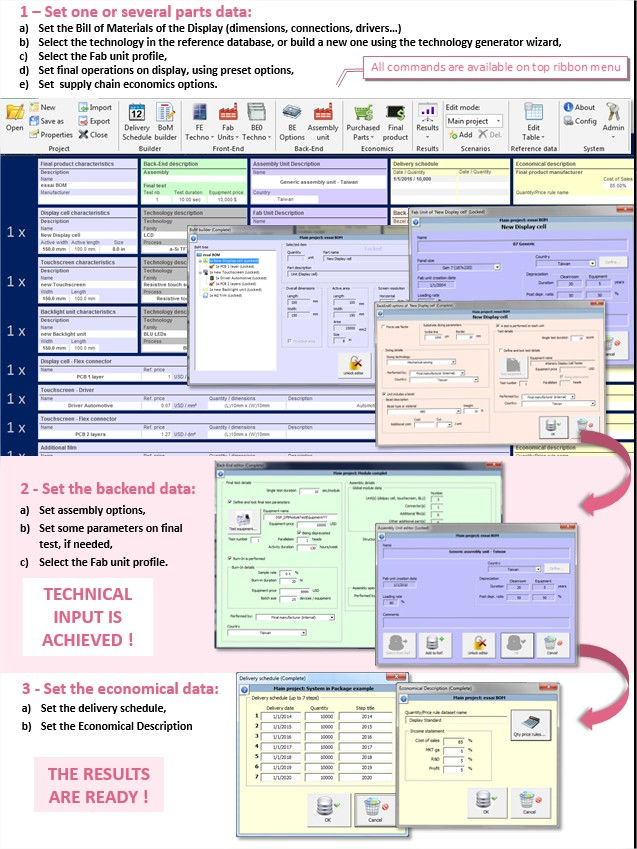 Costing Tool Display 2015 - System Plus Consulting
