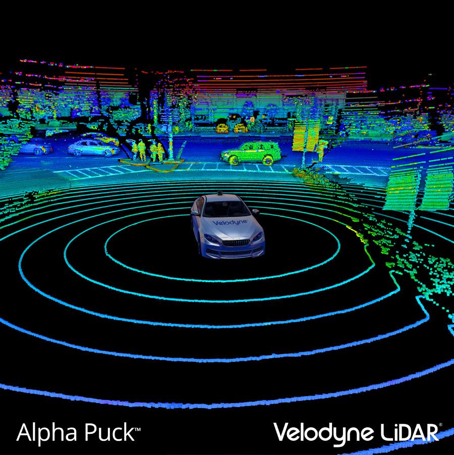 Alpha Puck™ - Point Cloud - Velodyne