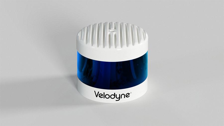 Front-Top - Blue Lens - Velodyne