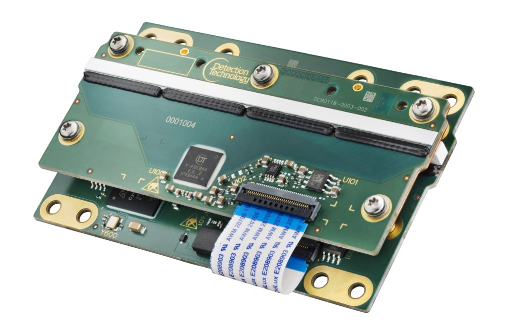 Aurora series X-ray detector card - Courtesy of  Detection Technology