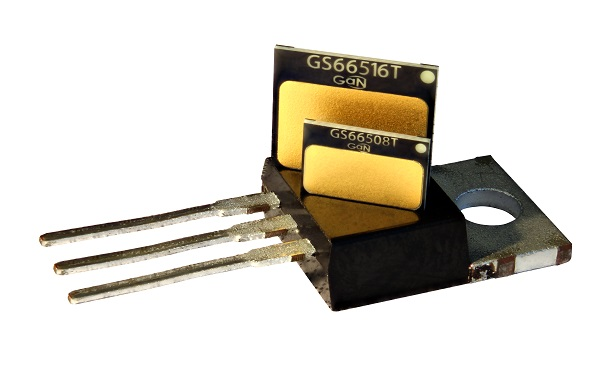 GS66508T GS66516T on TO220 yole i micronews gan systems bd