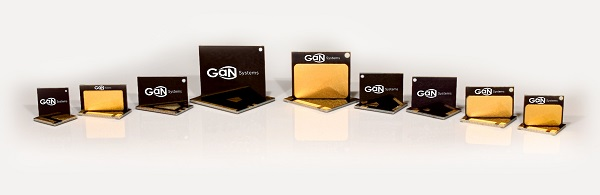 GaN Systems Family of Power Transistors High Production