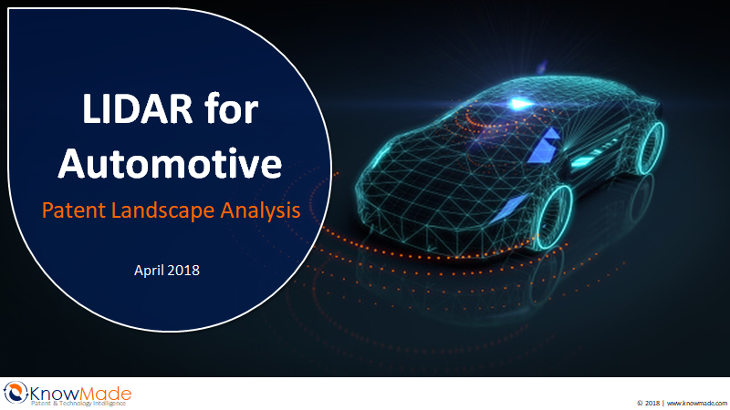 LiDAR for Automotive Knowmade 2018