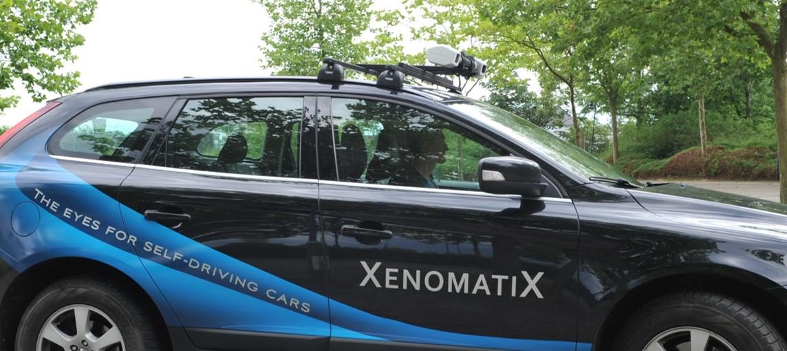 Xenomatix XenoLidar short range road scanning