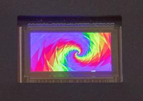 RGB display ar HUD CMOS backplane glo yole feb2019