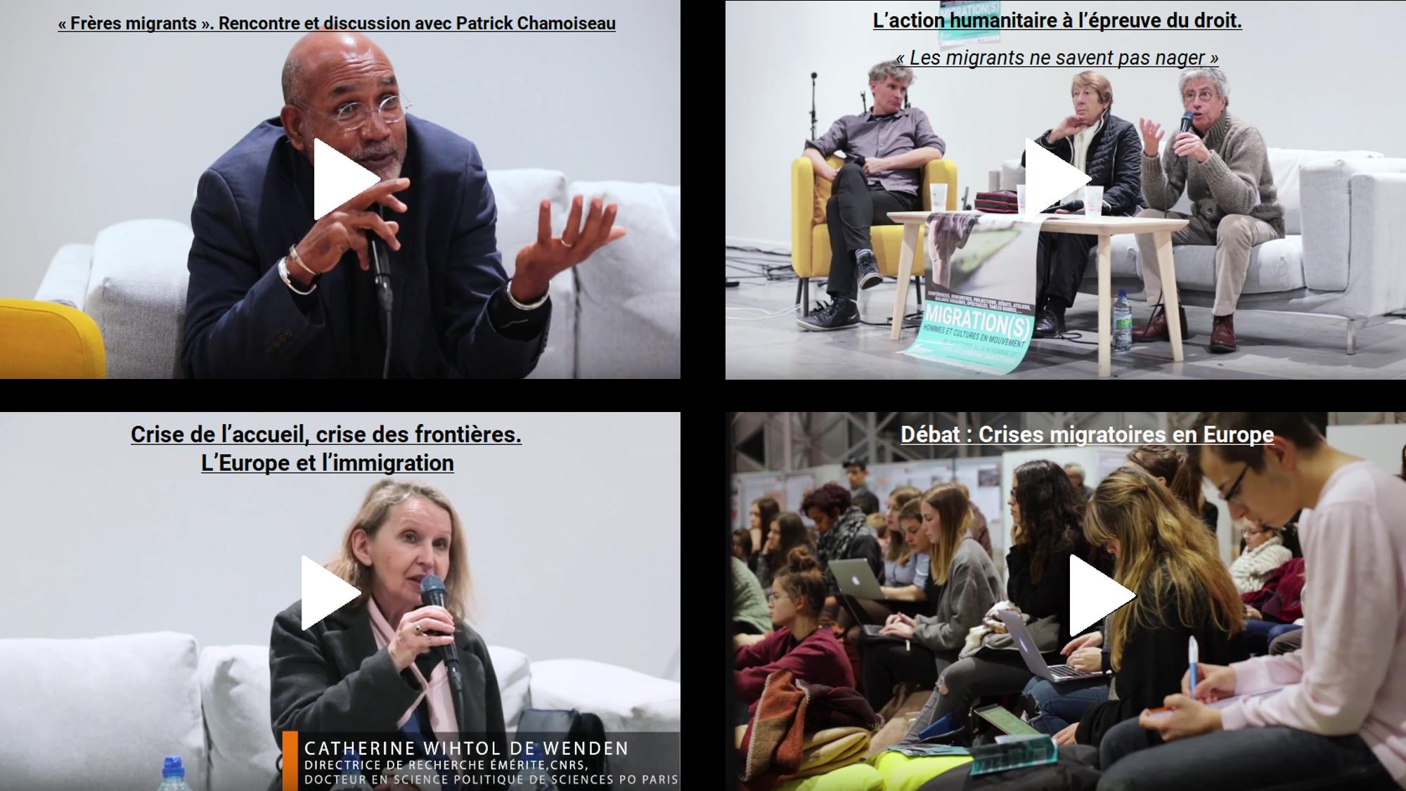conférence, humanitaire, migration, mémoire, chamoiseau, europe, frontières, droit, méditerranée