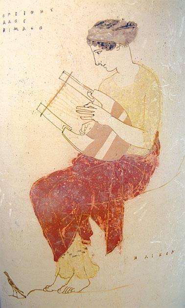 Hésiode /©Staatliche Antikensammlungen, Wikimedia Commons