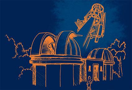 Visuel soirée Observatoire de Lyon