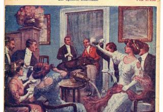 Les spectres bourreaux - Les Aventures de Harry Dickson de Jean Ray - Illustration de Alfred Roloff