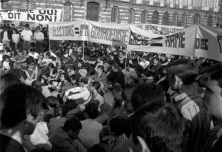 Nuit d'émeute-Mai 68/ Archives municipales de Toulouse- article du CNRS Journal