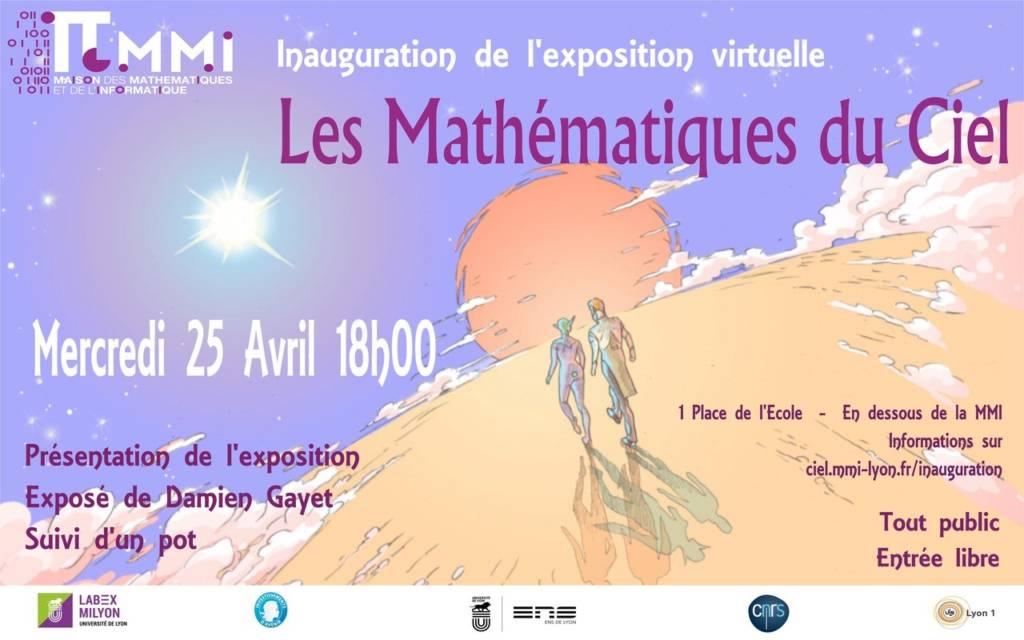 Inauguration Les mathématiques du ciel