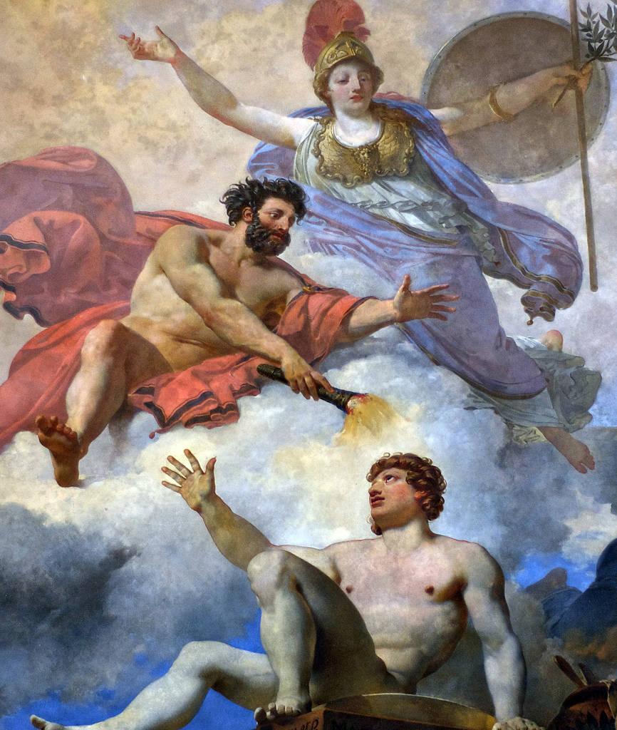 L'Homme formé par Prométhée et animé par Minerve