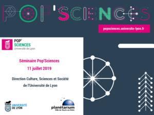 Affiche-séminaire PopSciences-11 Juillet 2019
