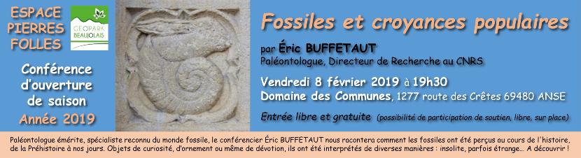Conférence Croyances et fossiles