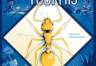 BD de vulgarisation scientifique sur les fourmis et l'écologie