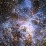 Région de la nébuleuse de la Tarantule, berceau d'étoiles, dans le nuage de Magellan, voisin de la Voie lactée - Article sur expansion de l'Univers énergie noire