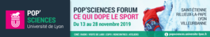 Affiche pop'Science Forum sur Sports et Sciences