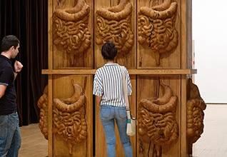 oeuvre de la biennale d'art contemporain de Lyon