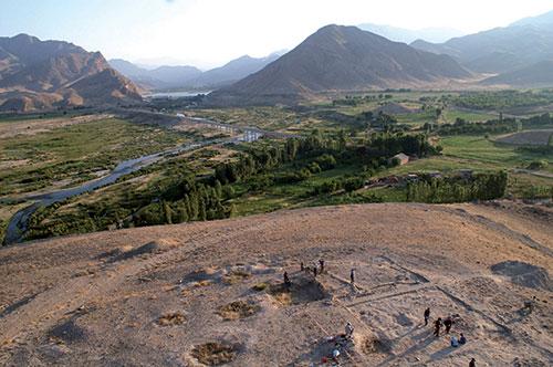 Site chalcolithique d'Ovçular Nakhchivan / ©Mission archéologique du Bassin de l'Araxe