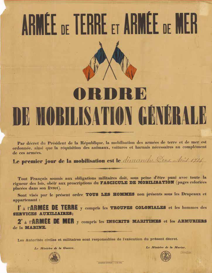 Ordre de mobilisation générale-recueil de Catherine Fillon, professeur des universités Faculté de droit Lyon 3
