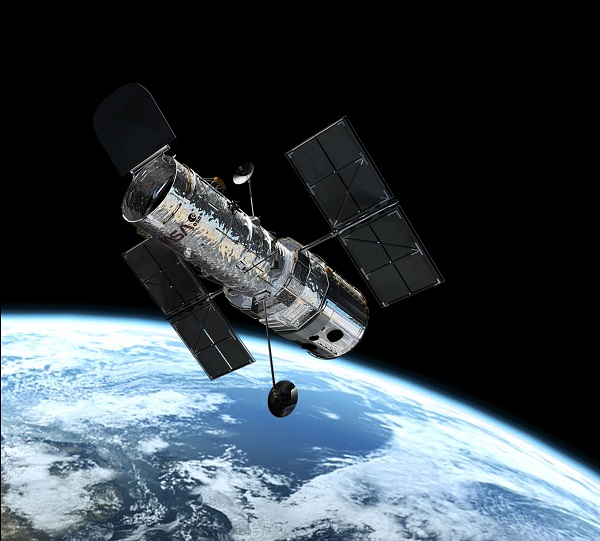 Télescope Hubble en orbite