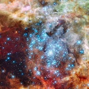 La nébuleuse de la Tarentule photographiée par le télescope spatial Hubble