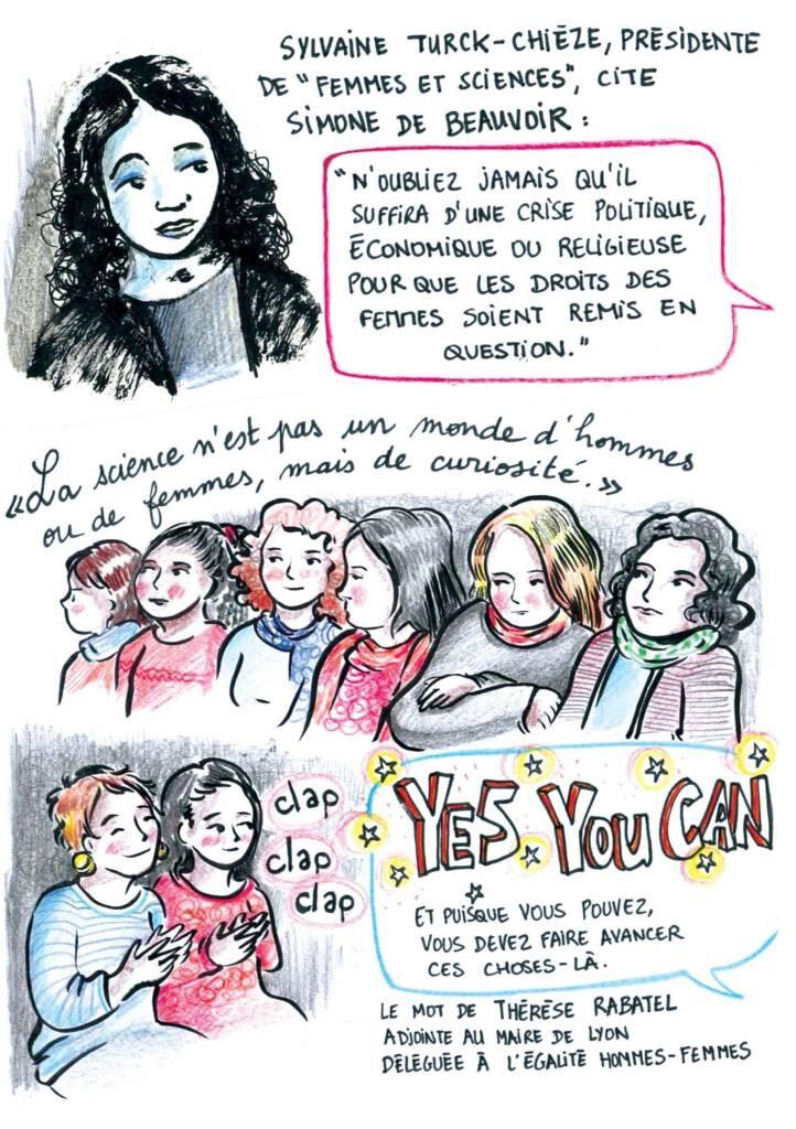 BD sur femmes et sciences