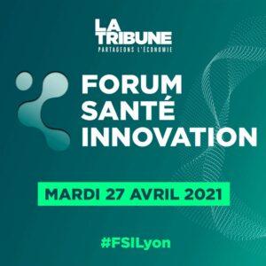 Affiche Forum santé innovation 2021