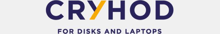 Logo de CRYHOD, logiciel de protection des laptops