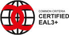 Logo of CC EAL3+ Certification