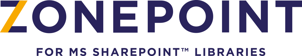 logo ZONEPOINT logiciel de protection dans SHAREPOINT