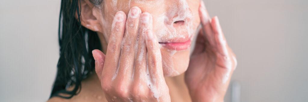 wash exfoliation scrub soap