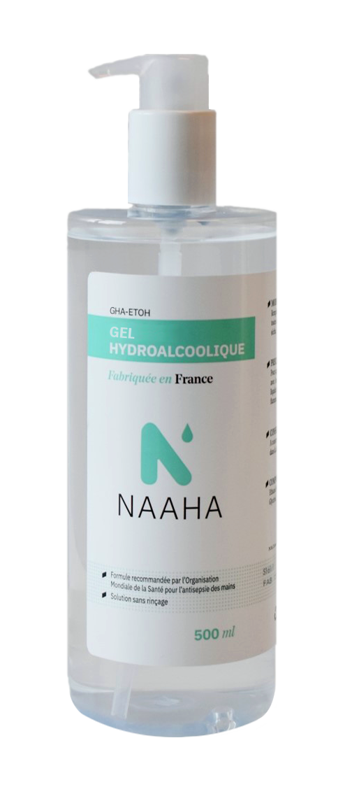 gel 500ml naaha
