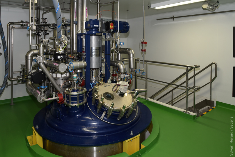 New production unit for highly active ingredients inaugurated in August 2020 on the Seqens CDMO Villeneuve-La-Garenne site