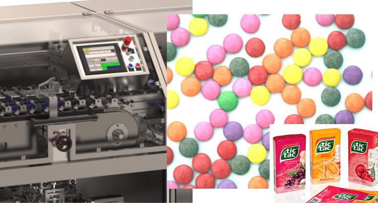Une Machine de conditionnement pour assurer une personnalisation complète des produits de confiserie