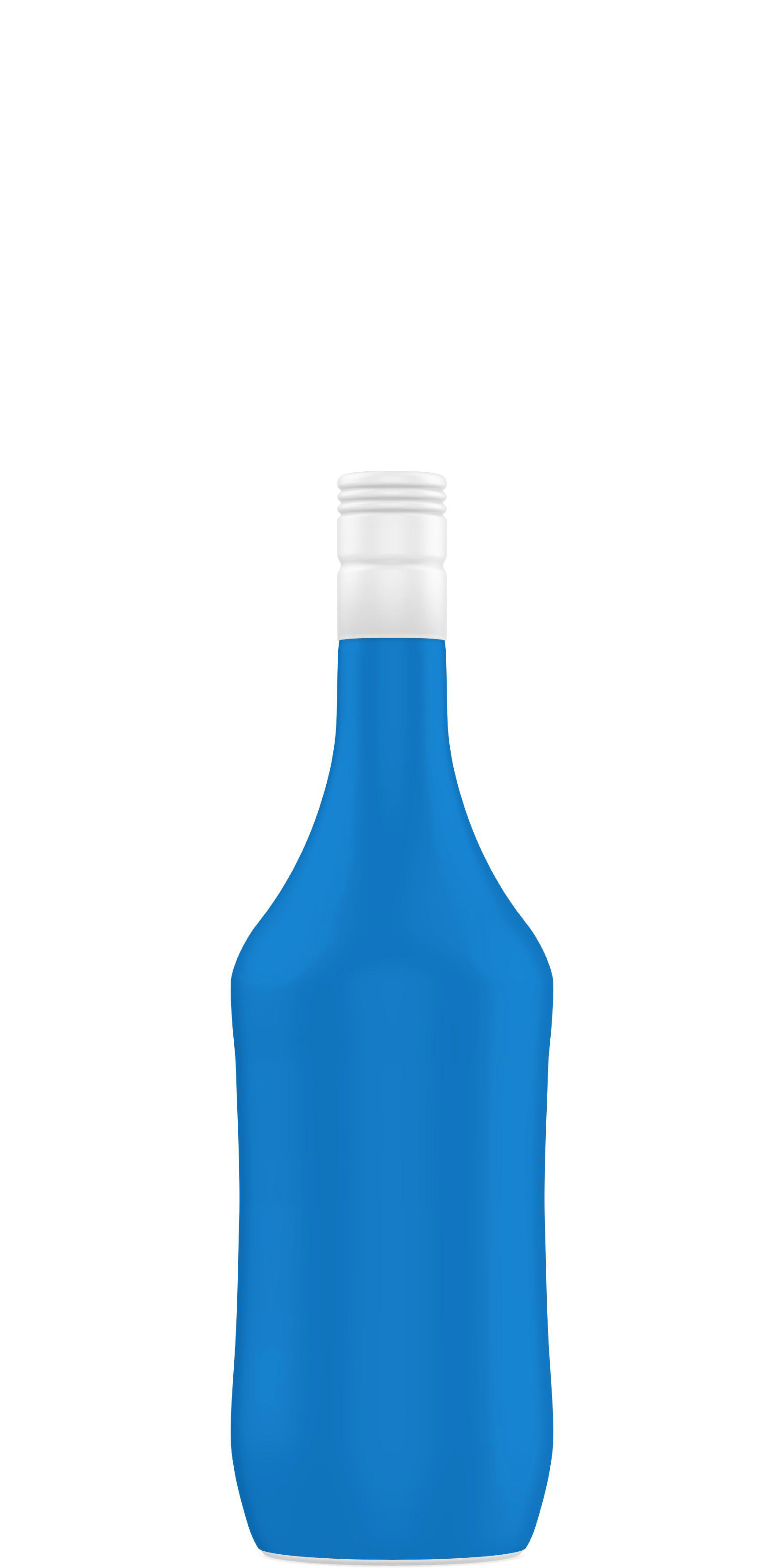 Packaging shape of liquor 70 to 75cl