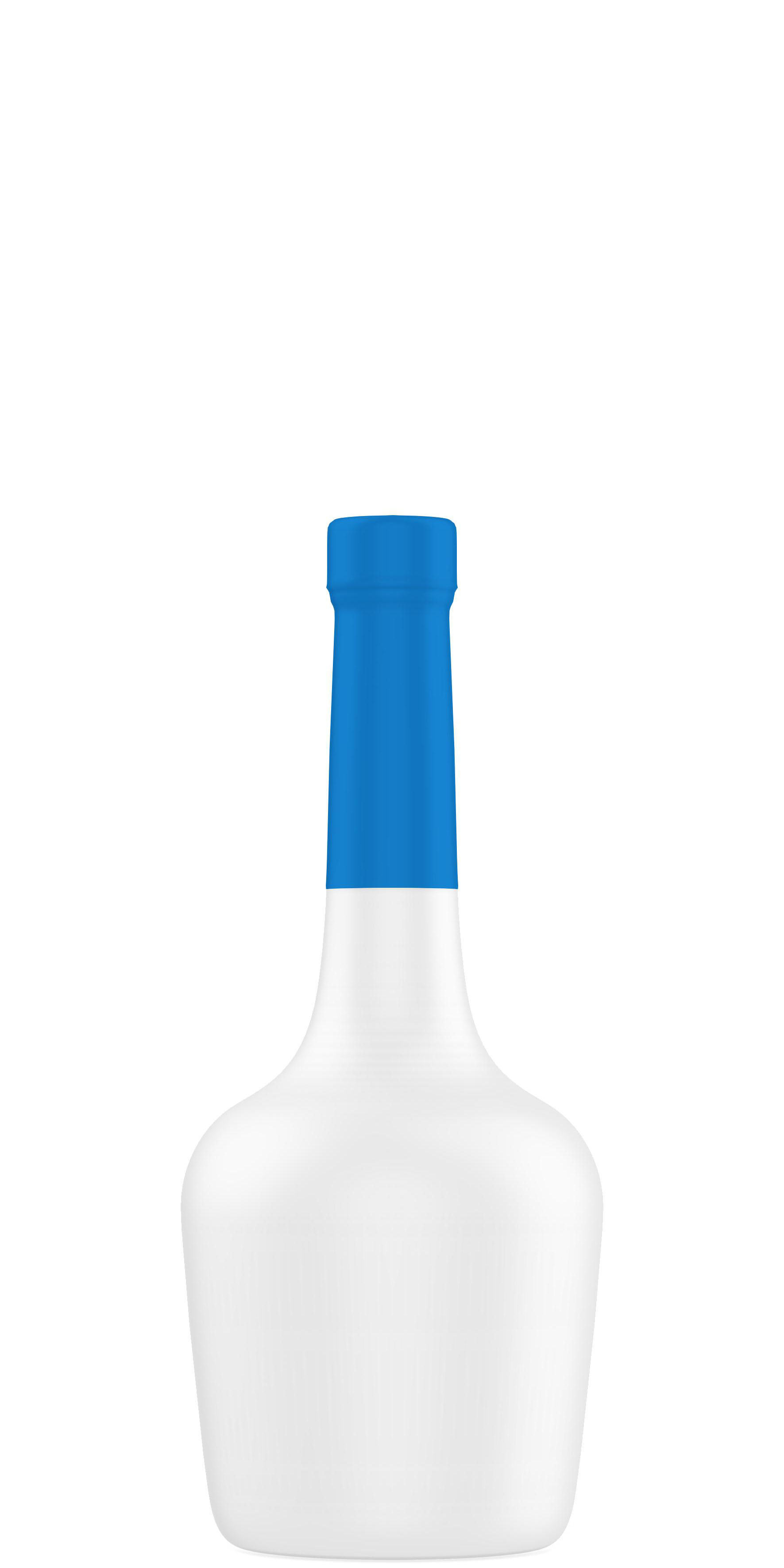 Forme emballage bouteille cognac  20cl à 75cl